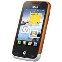 LG GS 290 WHITE ORANGE